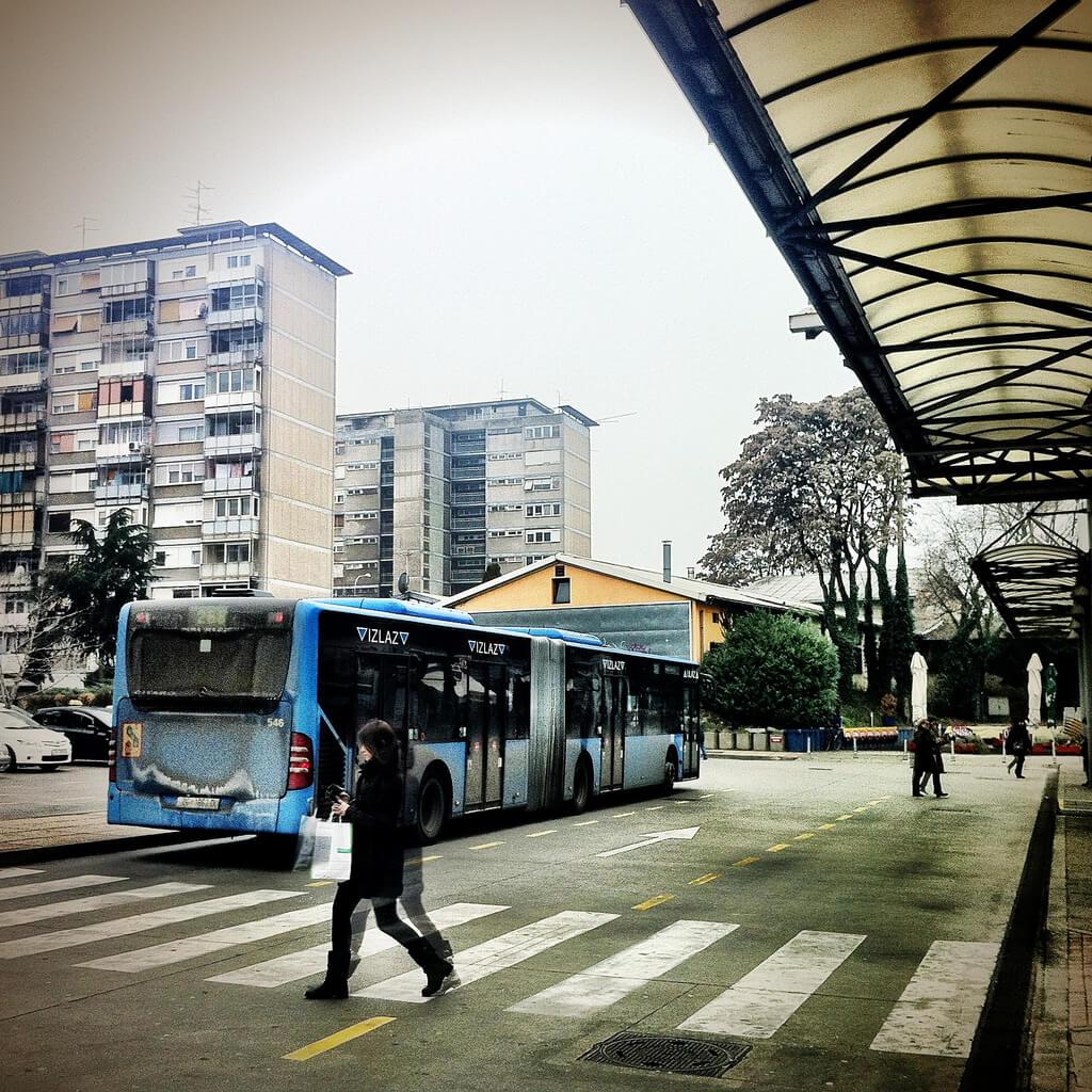 autobus w chorwacji